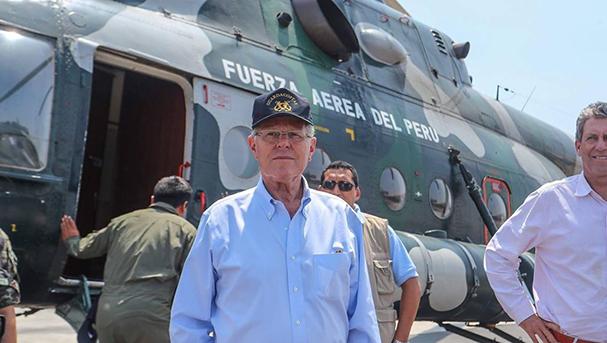 Pedro Pablo Kuczynski, presidente de la República. Foto: Andina