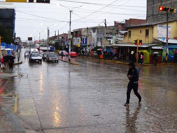 Senamhi pronostica lluvias. Foto: Referencial/Agencia Andina