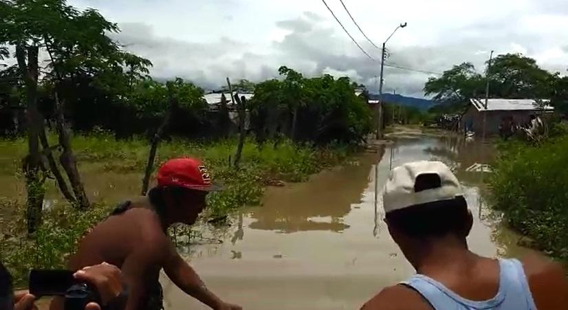 Inundaciones en Chulucanas. Foto: América Noticias