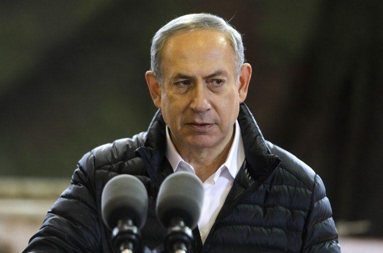 Benjamin Netanyahu, primer ministro de Israel. (Vía: AFP)