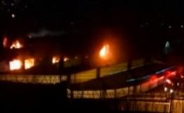 SJL: incendio en penal de Lurigancho dejó dos internos fallecidos