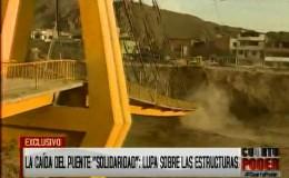 Puente Solidaridad costó más de S/ 3 millones y debió durar no menos de 20 años