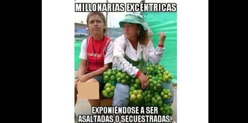 Memes por el alza del limón. (Vía: Twitter)