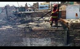 Huara: dos viviendas afectadas por incendio en distrito de Hualmay