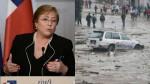 Chile: Bachelet expresa su solidaridad con el Perú - Noticias de michele hlavsa