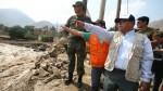 Chosica: Ministerio de Energía y Minas llevó ayuda a poblado Los Cañaverales - Noticias de puente piedra