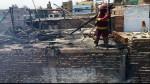 Huara: dos viviendas afectadas por incendio en distrito de Hualmay - Noticias de huara