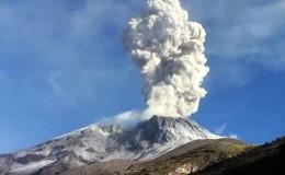 Arequipa: observatorio reportó nuevas emisiones de cenizas del volcán Sabancaya