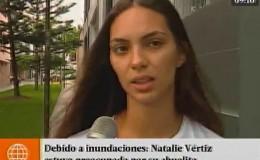 Natalie Vértiz se mostró preocupada por su abuelita tras inundaciones