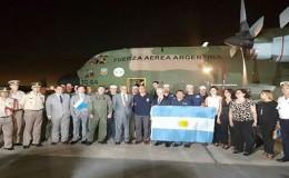 Argentina entregó ayuda humanitaria para damnificados por huaicos en Perú