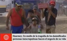 Huarmey: personas inescrupulosas hacen el negocio de su vida