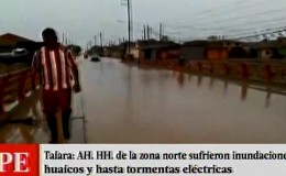 Talara: AA.HH. del cono norte quedaron inundados tras lluvias