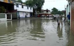 Piura: urbanización El Chilcal se encuentra inundada tras intensas lluvias