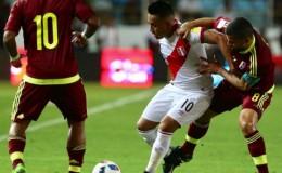 Perú reaccionó y empató 2-2 ante Venezuela por las Eliminatorias