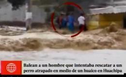 Huachipa: hombre recibió un disparo cuando intentaba rescatar a un perro
