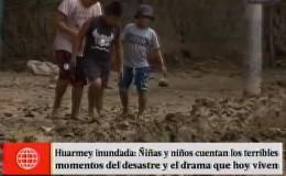 Huarmey: el drama de los niños damnificados por los huaicos
