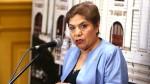 Salgado: Al no haber quorum, la interpelación a Vizcarra se cae - Noticias de fuerza popular luz salgado
