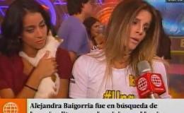 Alejandra Baigorria hizo pedido en favor de animales que sobreviven a huaicos