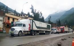 Carretera Central: reabren parcialmente el tránsito en el kilómetro 44