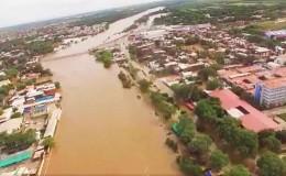 Piura: usuarios en redes sociales comparten impactantes imágenes de la inundación