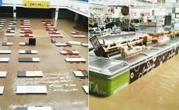 Piura: usuarios en redes comparten impactantes imágenes de la inundación