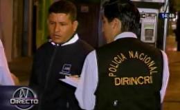 Miraflores: delincuentes y agentes de seguridad se enfrentaron a balazos