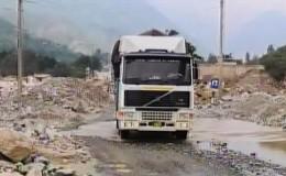 Carretera Central: pase vehicular hacia Lima fue rehabilitado en el Km. 44