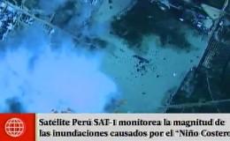Piura: Satélite Perú SAT-1 mostró magnitud de inundaciones