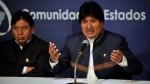 Evo Morales adelanta el viaje a Cuba para su cirugía en la garganta - Noticias de benigno cabrera pino