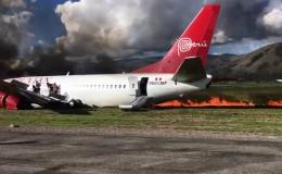 Jauja: piloto de avión incendiado afirmó que todo funcionaba normal