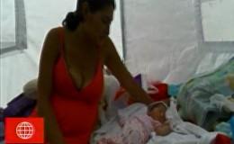 Trujillo: bebé que nació en medio de huaicos es símbolo de esperanza