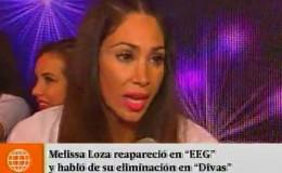 Melissa Loza: ¿cómo tomó su eliminación de 'Divas'?