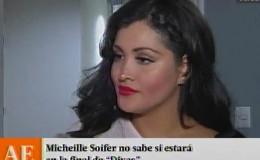 Michelle Soifer no sabe si estará en la final de 'Divas'