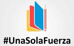 #UnaSolaFuerza por la Educación: recaudan útiles para escolares damnificados