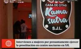 SJL: intervienen a mujeres que ejercían la prostitución en centro nocturno