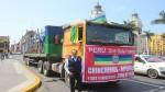 Chincheros entregó 35 toneladas de ayuda para damnificados por los huaicos - Noticias de agua embotellada