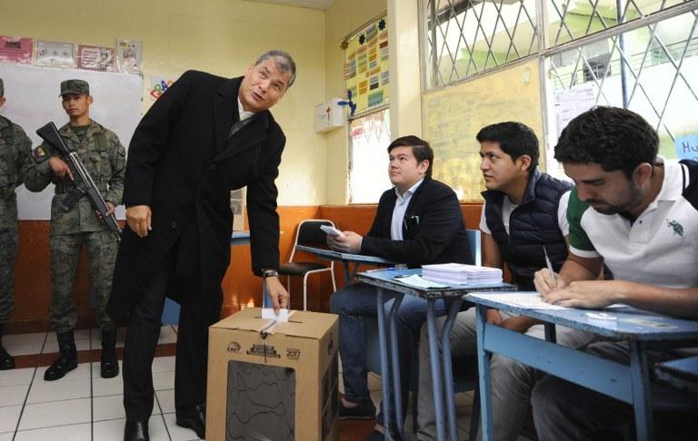 Rafael Correa agradece a ecuatorianos el