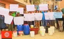 Comas: pobladores de Año Nuevo llevan tres semanas sin agua