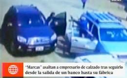 SJL: cámara de seguridad registró cómo 'marcas' interceptaron a empresario