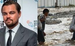 Leonardo DiCaprio se pronunció por los desastres naturales en Perú