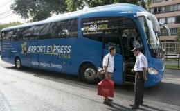 Lanzan servicio de buses desde el aeropuerto Jorge Chávez hasta Miraflores