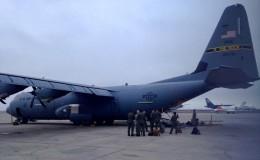 EE.UU. envió dos aviones para apoyar en la entrega de ayuda a damnificados