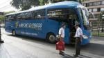 Lanzan servicio de buses desde el aeropuerto Jorge Chávez hasta Miraflores - Noticias de marriott hotel lima