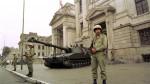 ¿Cómo lucían las calles de Lima tras el autogolpe de Alberto Fujimori? - Noticias de marina armada