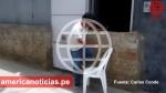 Trujillo: vecinos levantan muros en sus puertas para protegerse de huaicos - Noticias de federico salazar
