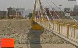 Municipalidad de Lima reabre puente Los Libertadores ante protesta de pobladores