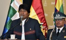 Evo Morales dice que el bombardeo de EE.UU. en Siria amenaza la paz mundial