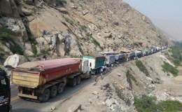 Carretera Central: restringen circulación de vehículos pesados por Semana Santa