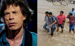 Mick Jagger pide apoyo para damnificados por huaicos en Perú