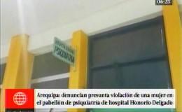 Arequipa: paciente de psiquiatría del Hospital Honorio Delgado denunció violación